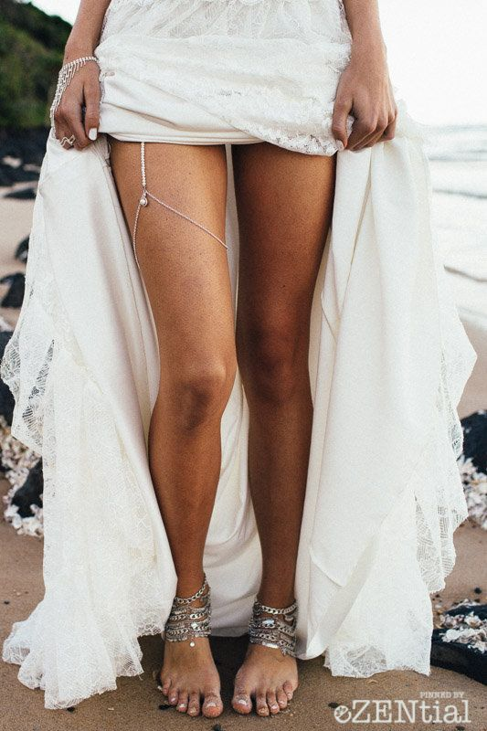 25 Trendy And Beautiful Bridal Foot Jewelry Ideas