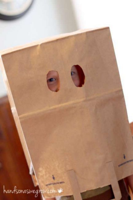 Make a Paper Bag Mask, a Classic Summer Craft for Kids   Masking ...