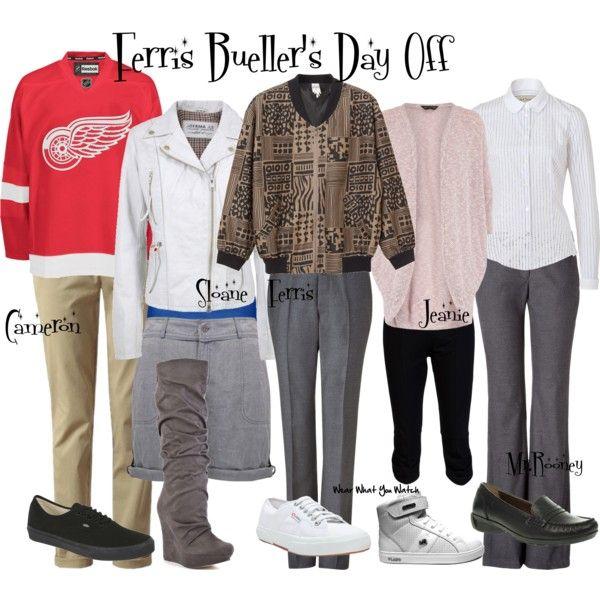 586e32a787f4c7 Ferris Bueller's Day Off | Film Inspired Wardrobe | Ferris bueller ...