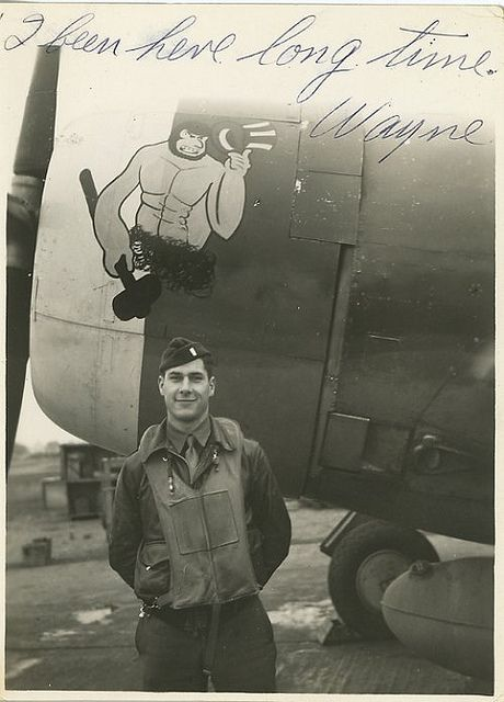 56th Fighter Group, 62nd Fighter Squadron P-47C. Pilot Wayne Brainard