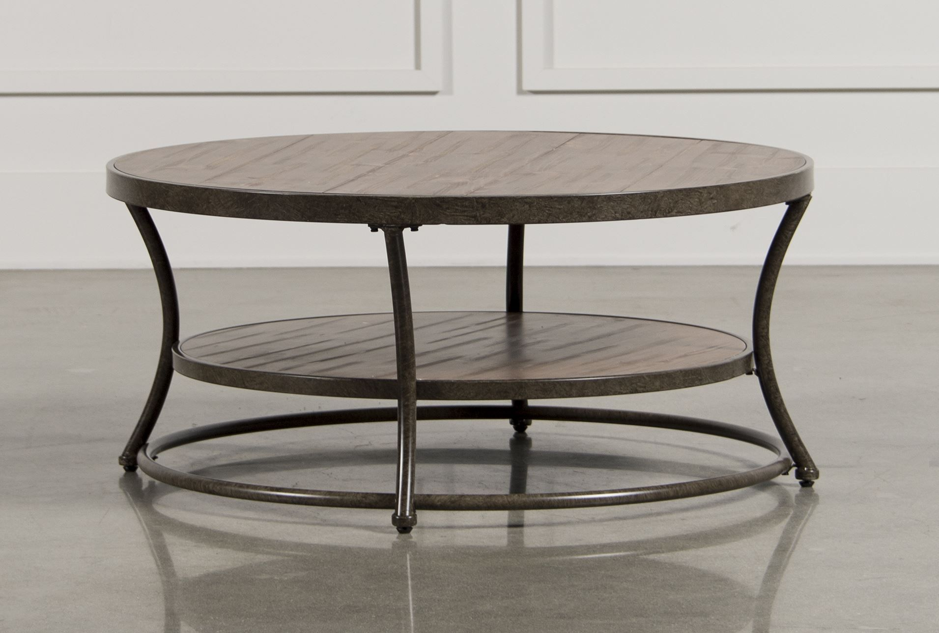 Good Price 295 Nartina Round Cocktail Table Signature Coffee Table Table Home Living Room [ 1288 x 1911 Pixel ]