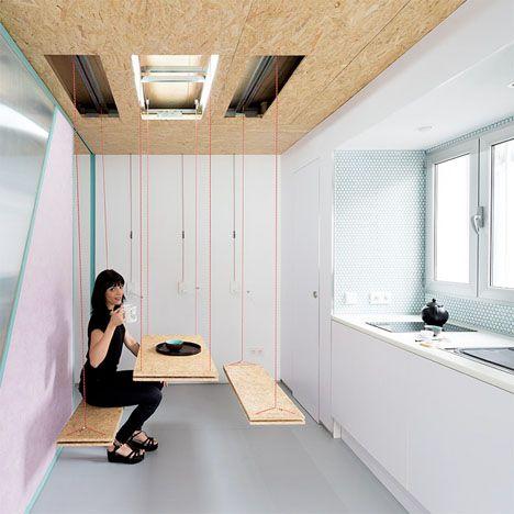 Adaptable Attic Apartment Total Of Secret Compartments ...