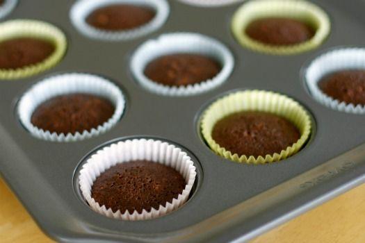 Mini Brownies In A Muffin Tin Mini Muffin Brownies Mini