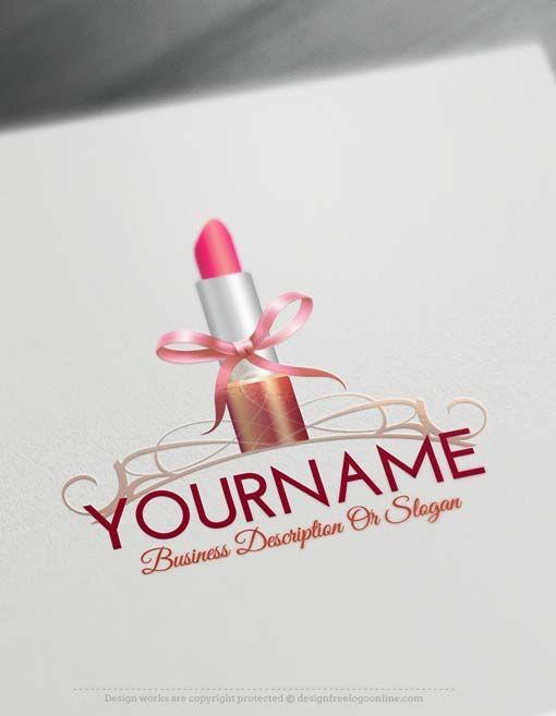 Logo creator - Lipstick Logo Design Makeup Logos | Logos ... - photo #22