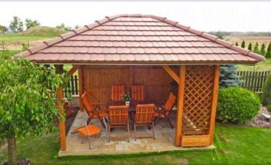 Idee Amenajare Foisor De Gradina Din Lemn Gazebo Garden Decor Outdoor