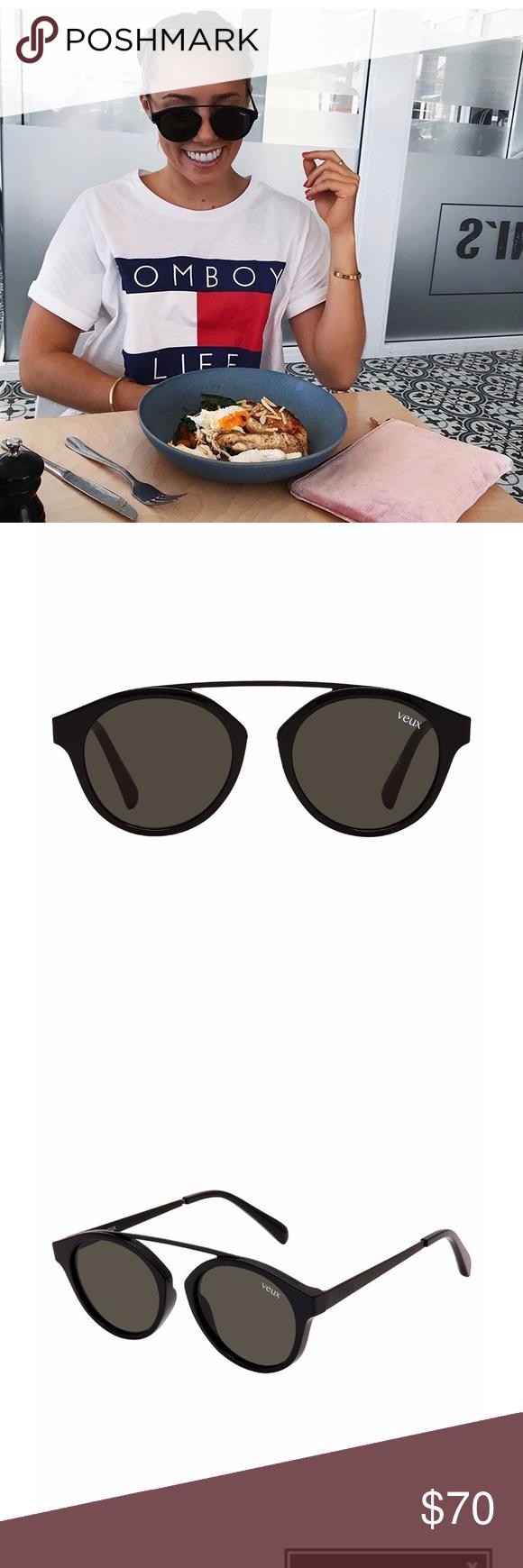 bafc906a9a8 Veux Sunglasses La Ruche Sunglasses Black. Brand new. White Fox Boutique Accessories  Sunglasses