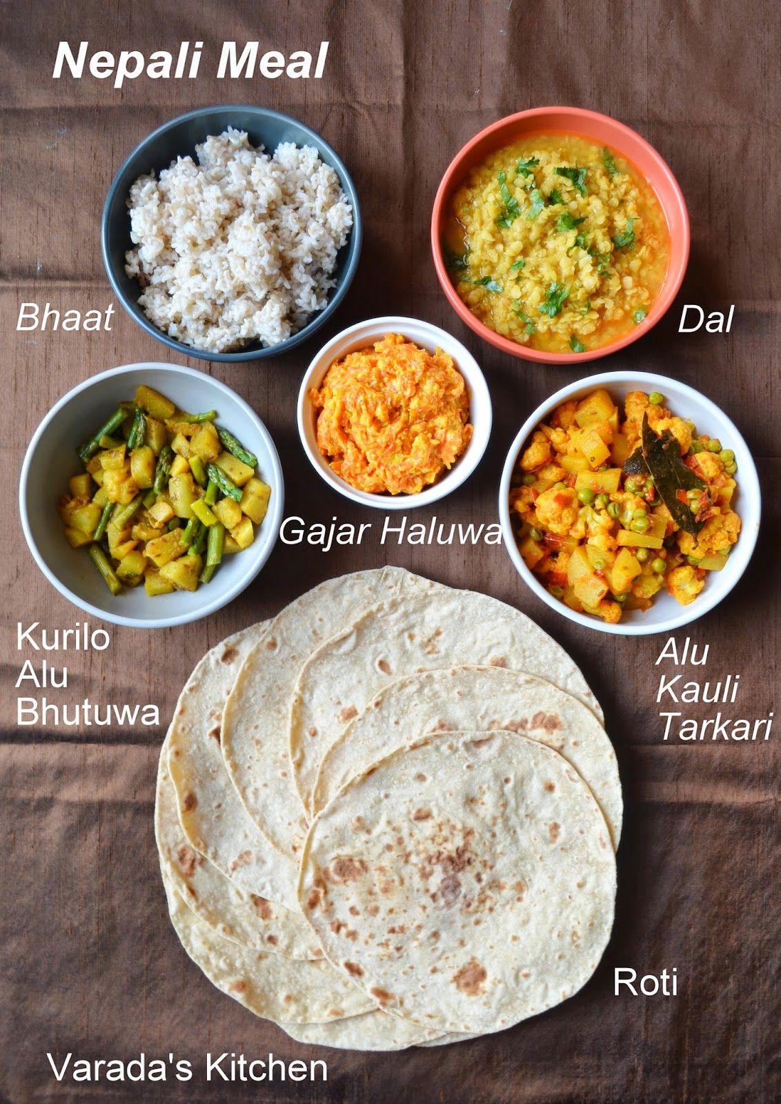 Varada's Kitchen: Nepali Meal | नेपाली खाना | Nepali food