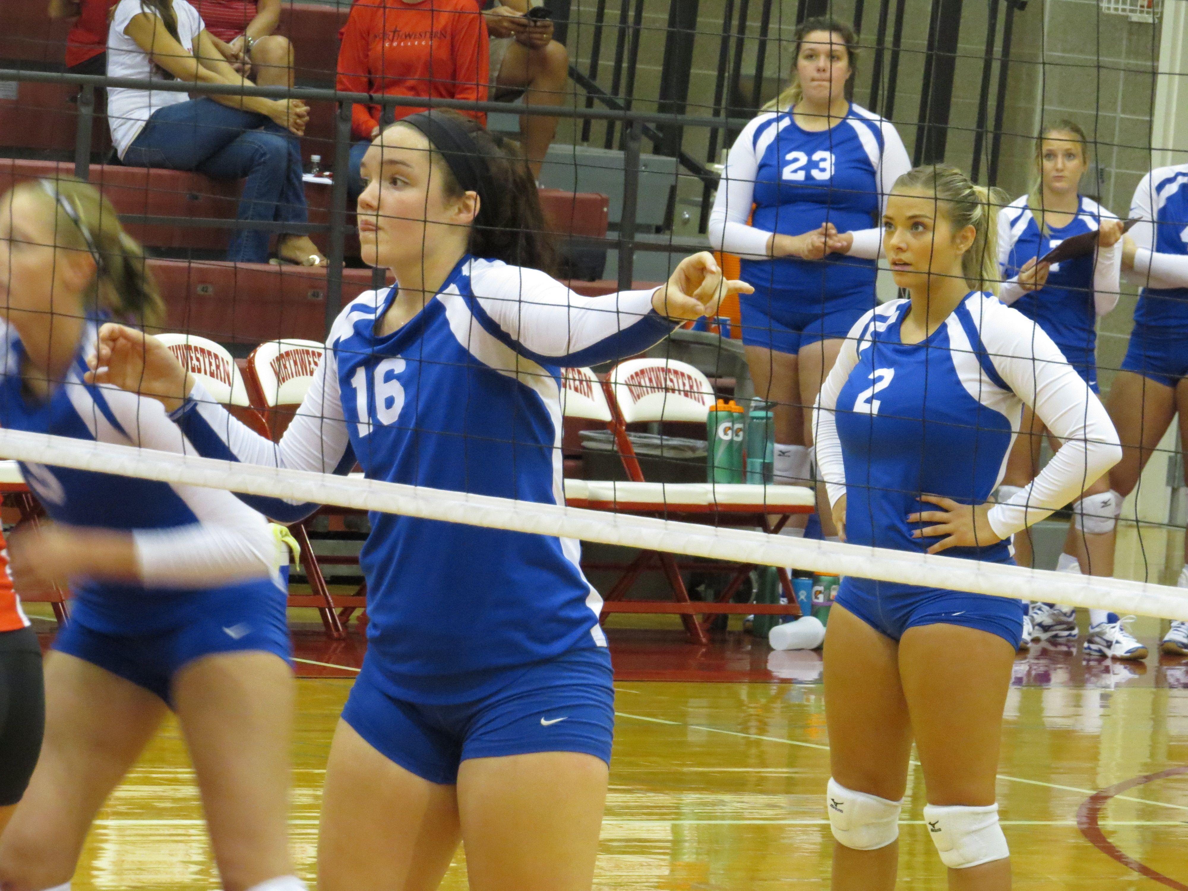 Dakota State Trojan Volleyball At Nwc Orange City Iowa Orange City Iowa Orange City Northwestern College