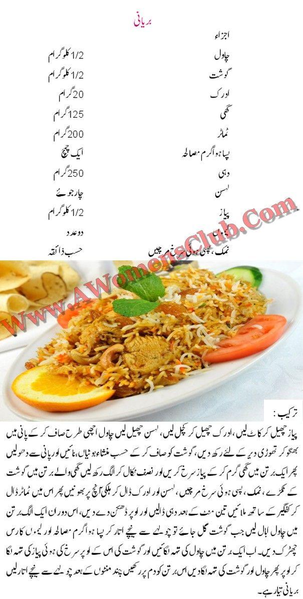 Biryani recipe urdu cooking recipes pinterest biryani biryani cooking recipe in urdu bombay chicken biryani is popular for its brilliant indian testy coo forumfinder Images