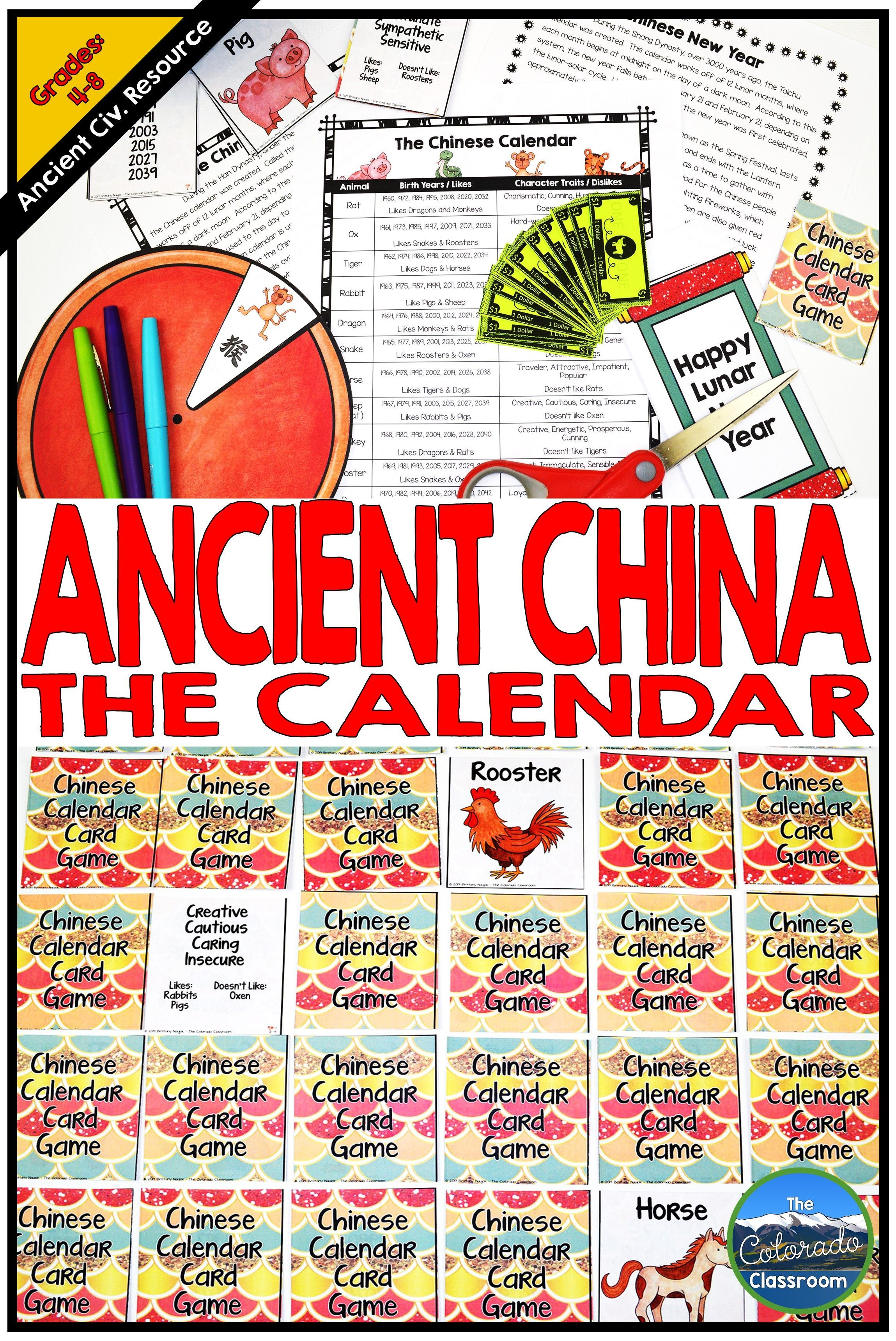 Ancient China Chinese Calendar And New Year In 2020 Chinese Calendar New Year Words New Year Calendar