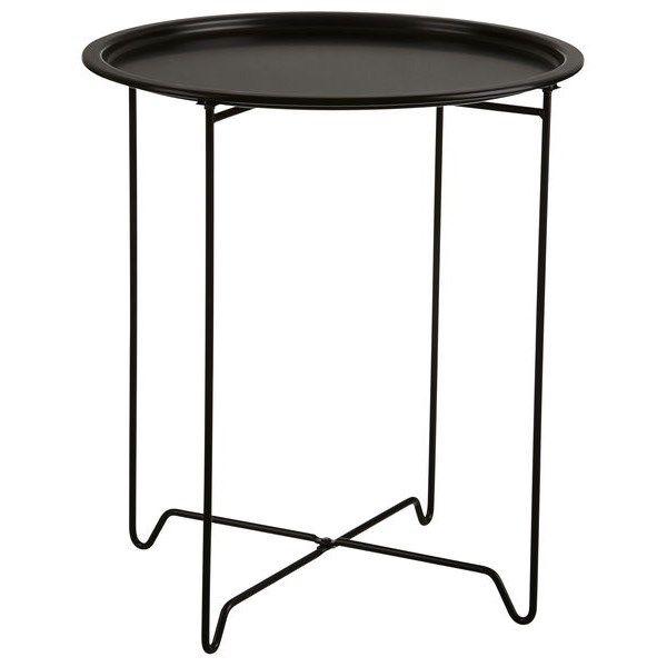 Knee Chair Ikea Brettbord Jon Ø 45 cm Svart Metall - Bord - Rusta | Vardagsrum ...