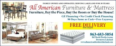 All American Furniture Mattress 845 N Florida Avenue Lakeland Fl