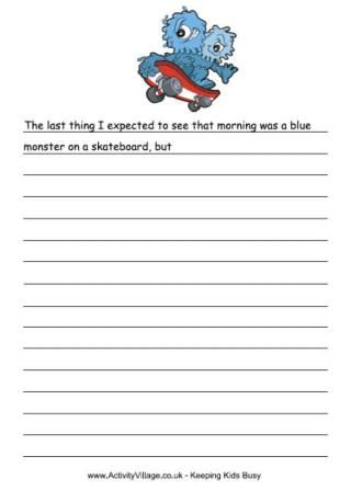 photo relating to Printable Stories named Pin upon 3rd quality creating