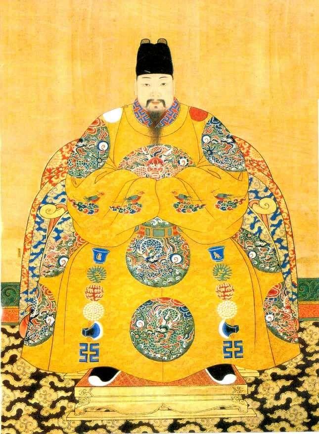 29be55843 Emperor Xizong Zhu Youxiao (1605-1627) of the Ming Dynasty | The ...