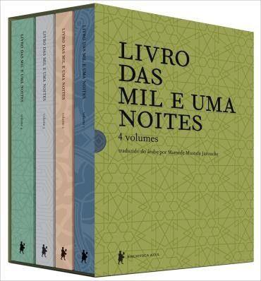 Caixa Livro Das Mil e Uma Noites - 4 Volumes