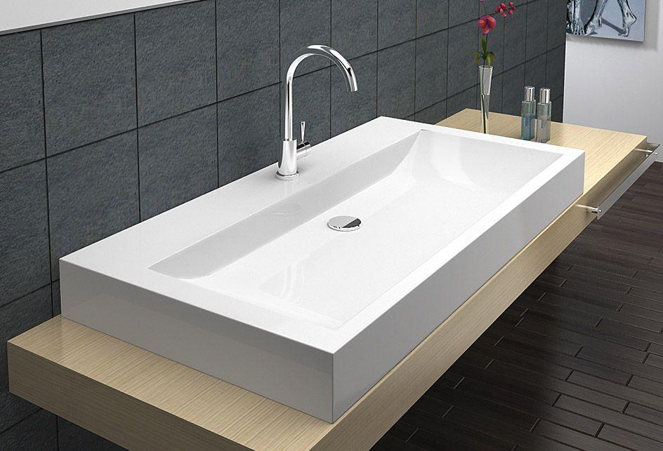 Duza Umywalka Nablatowa 6910 Sink Decor Home Decor