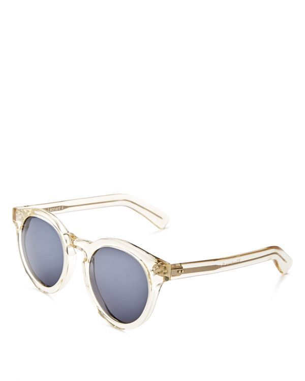 6f3accbb1f Illesteva Leonard Ii Oversized Round Sunglasses