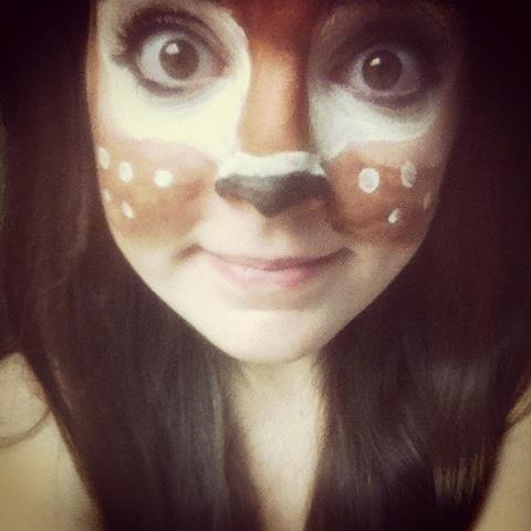 Oh #Deer  #FacePainting #FacePaint #BodyArt Sofias Halloween - face painting halloween ideas