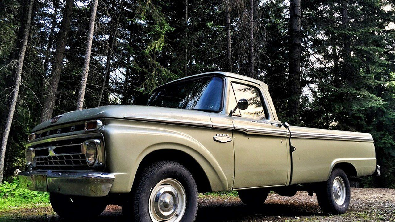 1966 Ford F100 for sale 100890950 | Blue Oval \'64 to \'66 Truck-Panel ...
