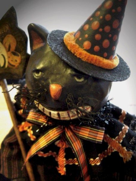 55 Beautiful Vintage Halloween Decoration Ideas Vintage halloween - halloween decorations vintage