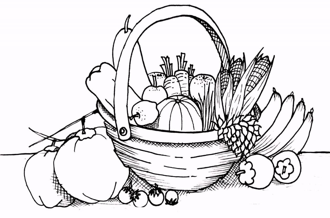 13 Top Fresh Fruit Coloring Pages For Kids With Images Fruit
