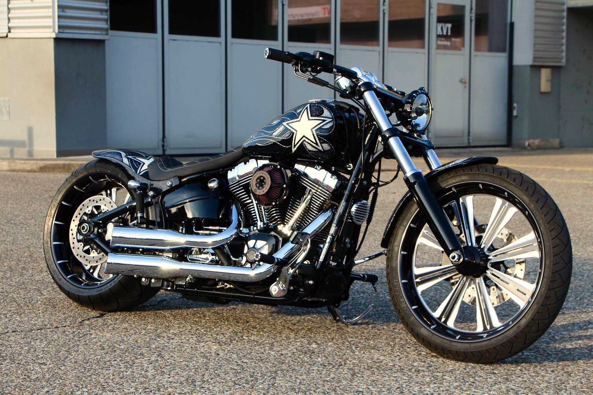 WildBunchIndustries Harley Davidson Shovelhead Custom Bike