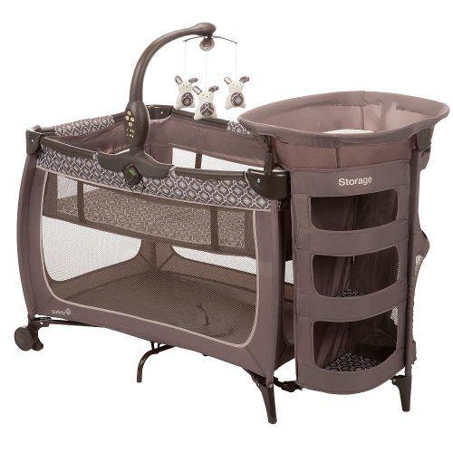 Amazon Com Safety 1st Satellite Premier Play Yard Casablanca Baby Safety 1st Play Yard Baby Girl Nursery Room