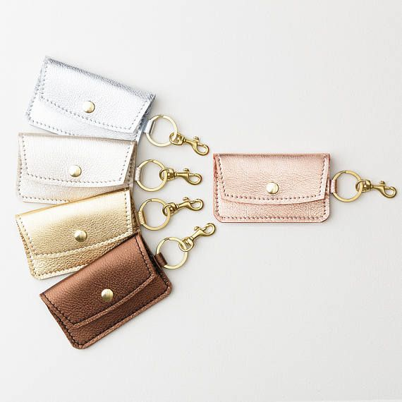 Metallic leather keychain wallet leather keychain credit card metallic leather keychain wallet leather keychain credit card gift card holdersbusiness colourmoves