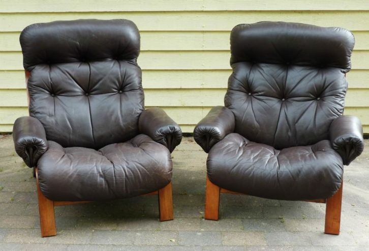 Addvin Rykken lounge chairs Norway