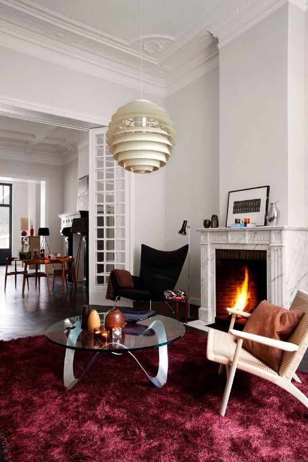 Minimalist Hotel Room: The Tenbosch House Hotel :: Brussels {fireside Lounge