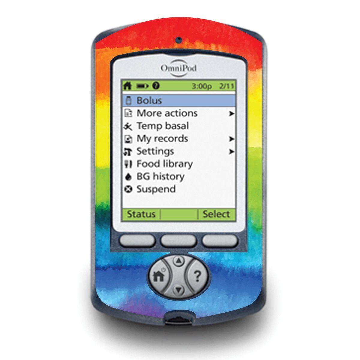 Rainbow for OmniPod PDM | Diabetic Stuff | Type 1 diabetes