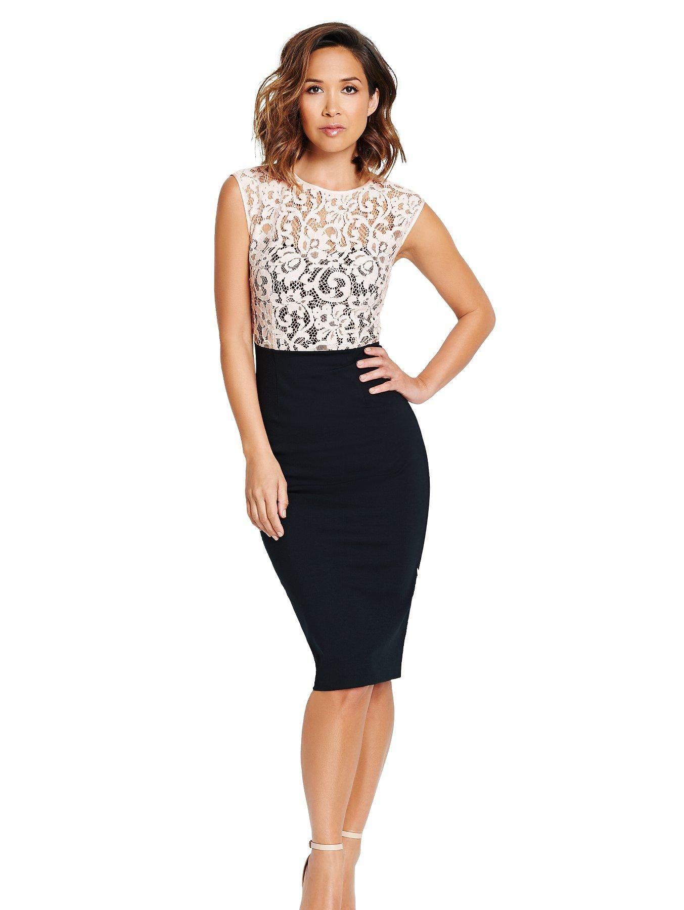 Myleene Klass Lace Top Dress | littlewoods.com | Things to Wear ...