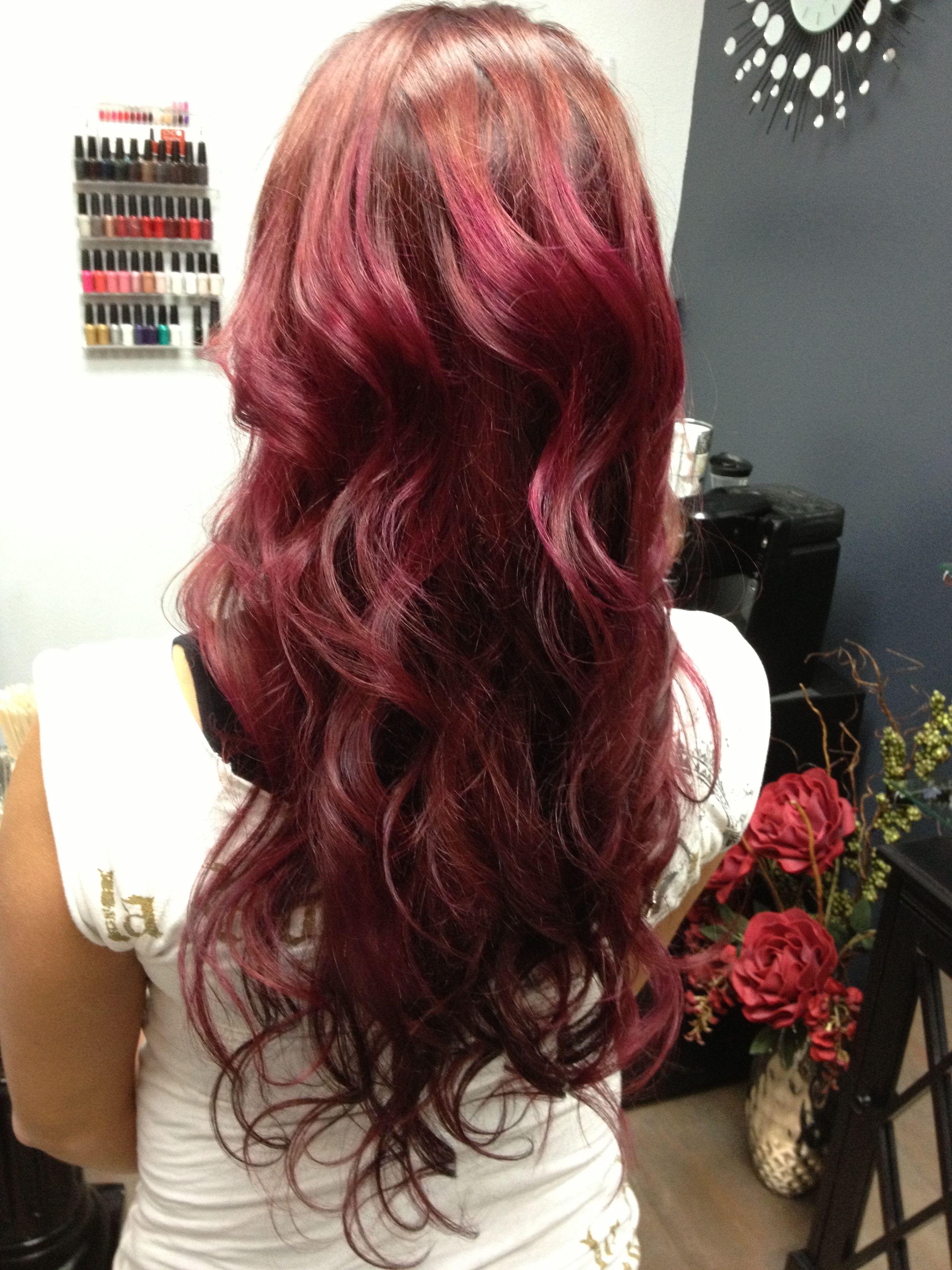 Red Wine Hair Color Wine Red Hair Color Wine Red Hair Hair Color