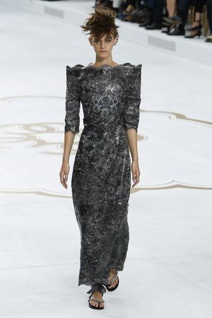 Chanel Couture Fall Winter 2014 Paris - NOWFASHION