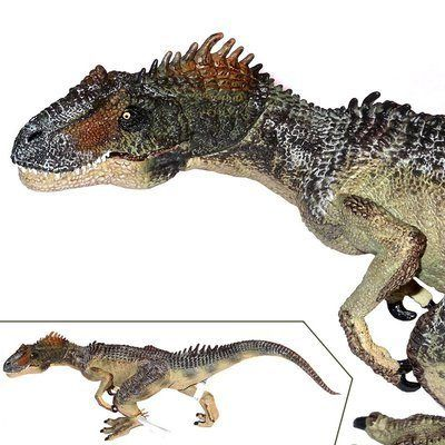 Allosaurus Plastic Toy | Dinosaur Toy | Papo Toy Figures