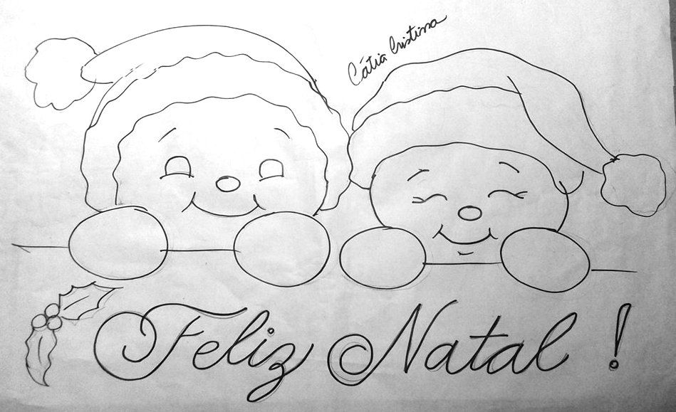 Pin De Moira Adams Em Drawings Pintura De Natal Desenho De