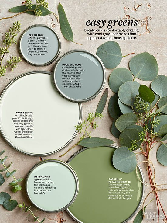 Love The Paint Colors You Saw In Better Homes And Gardens Color Story Get