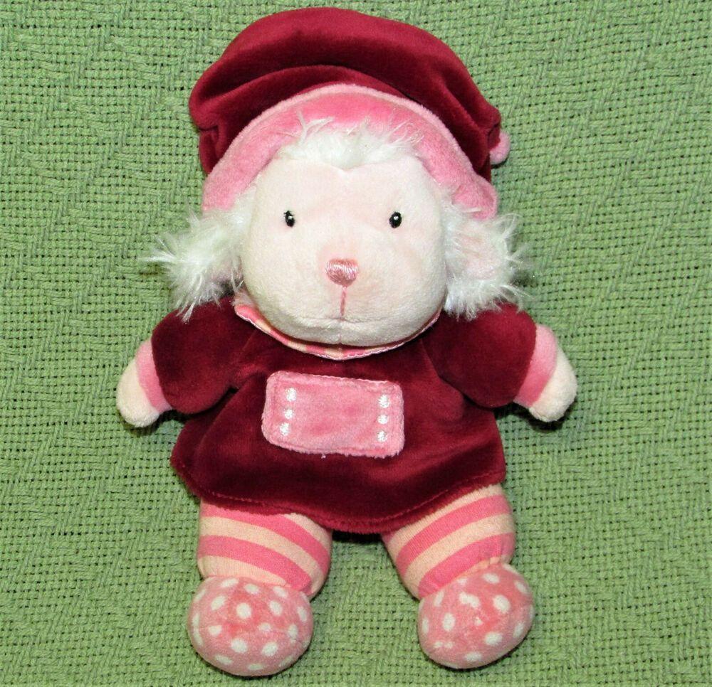 Gund Land Of Milk And Honey Lily Lamb 8 Stuffed Animal Pink Plush Soft Toy Gund Soft Toy Gund Milk And Honey [ 966 x 1000 Pixel ]
