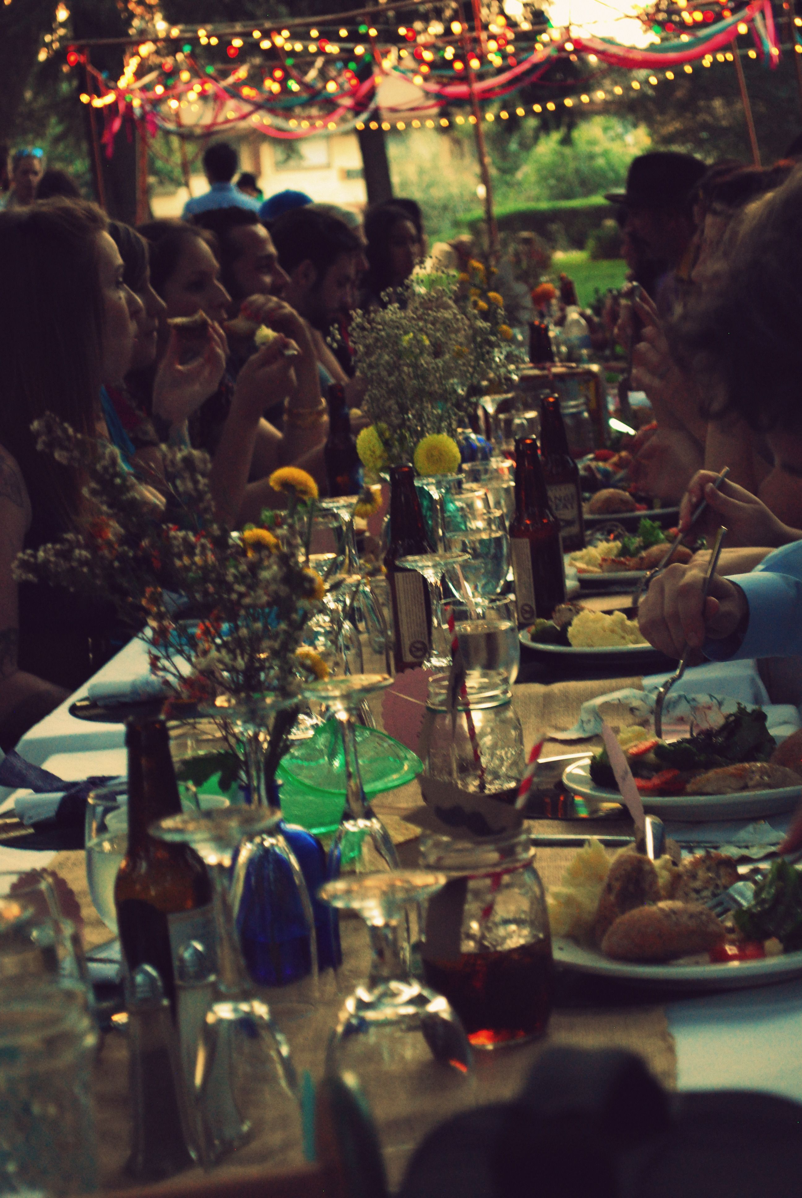 #Bohemian #Wedding #Reception by Partly-Yellow