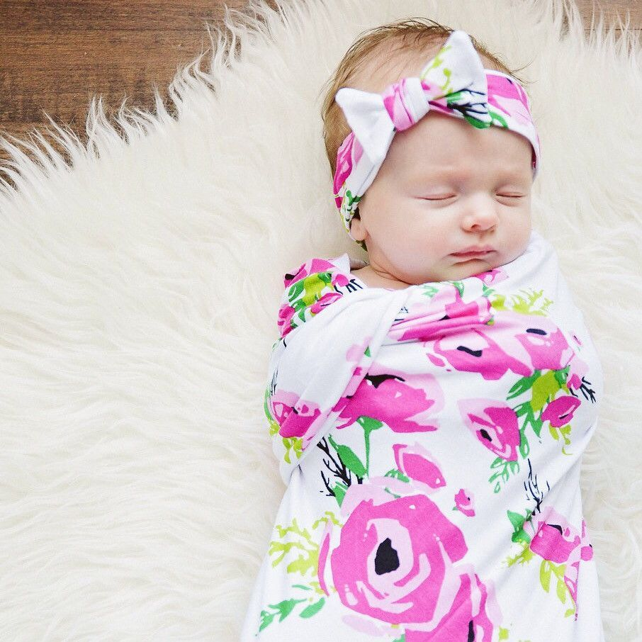 How To Swaddle A Baby With A Blanket Extraordinary This Swaddle Is The Cutest Way To Wrap Your Newborn Babyit's Soft Design Inspiration
