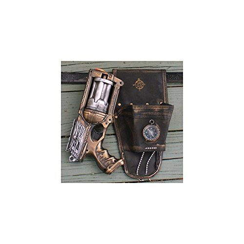 Steampunk Gun Nerf Maverick N-Strike HOLSTER+belt+gun soft darts toy (The Nerf Wars are coming to Steampunk!!!)