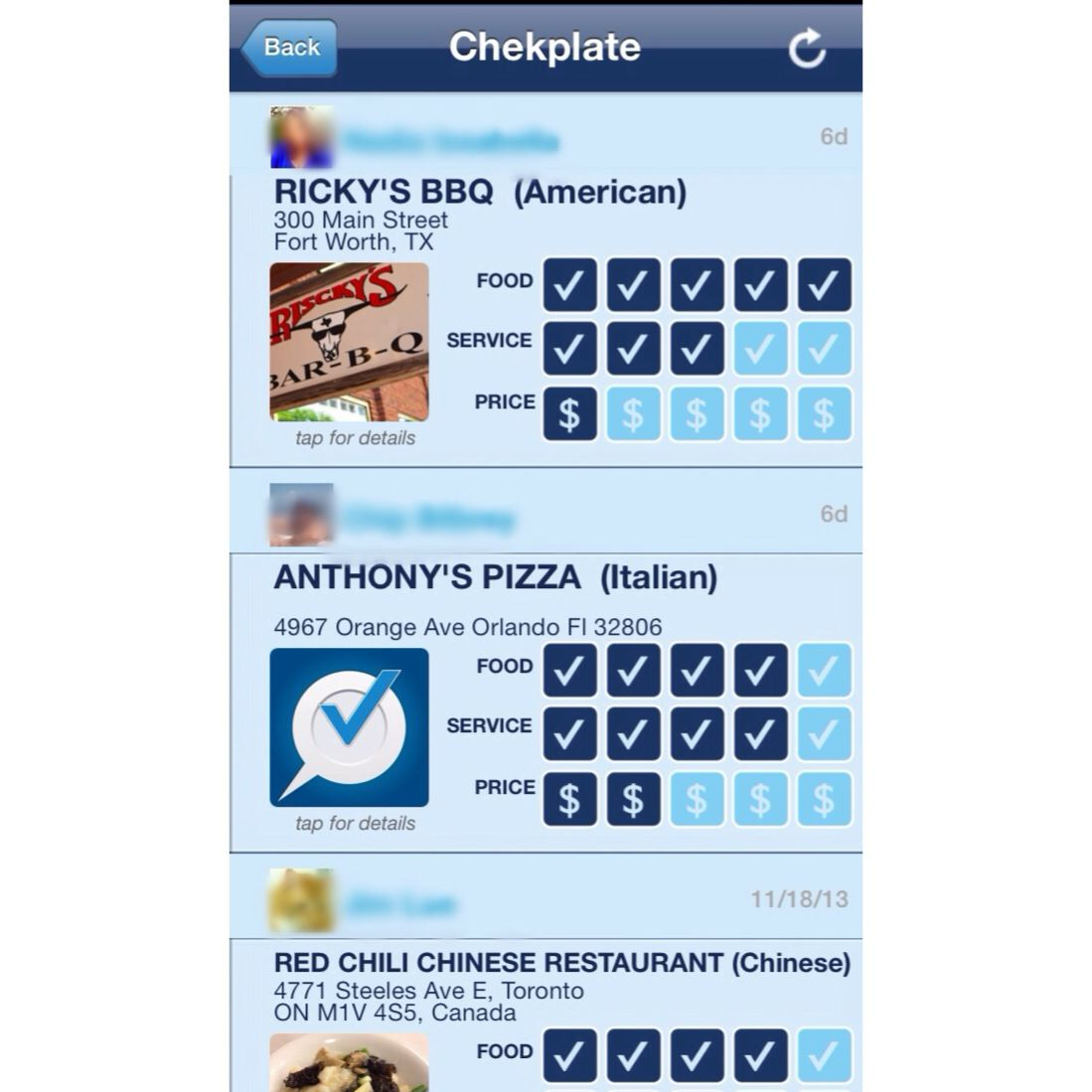 Chekplate Users Share Reviews From All Over The World