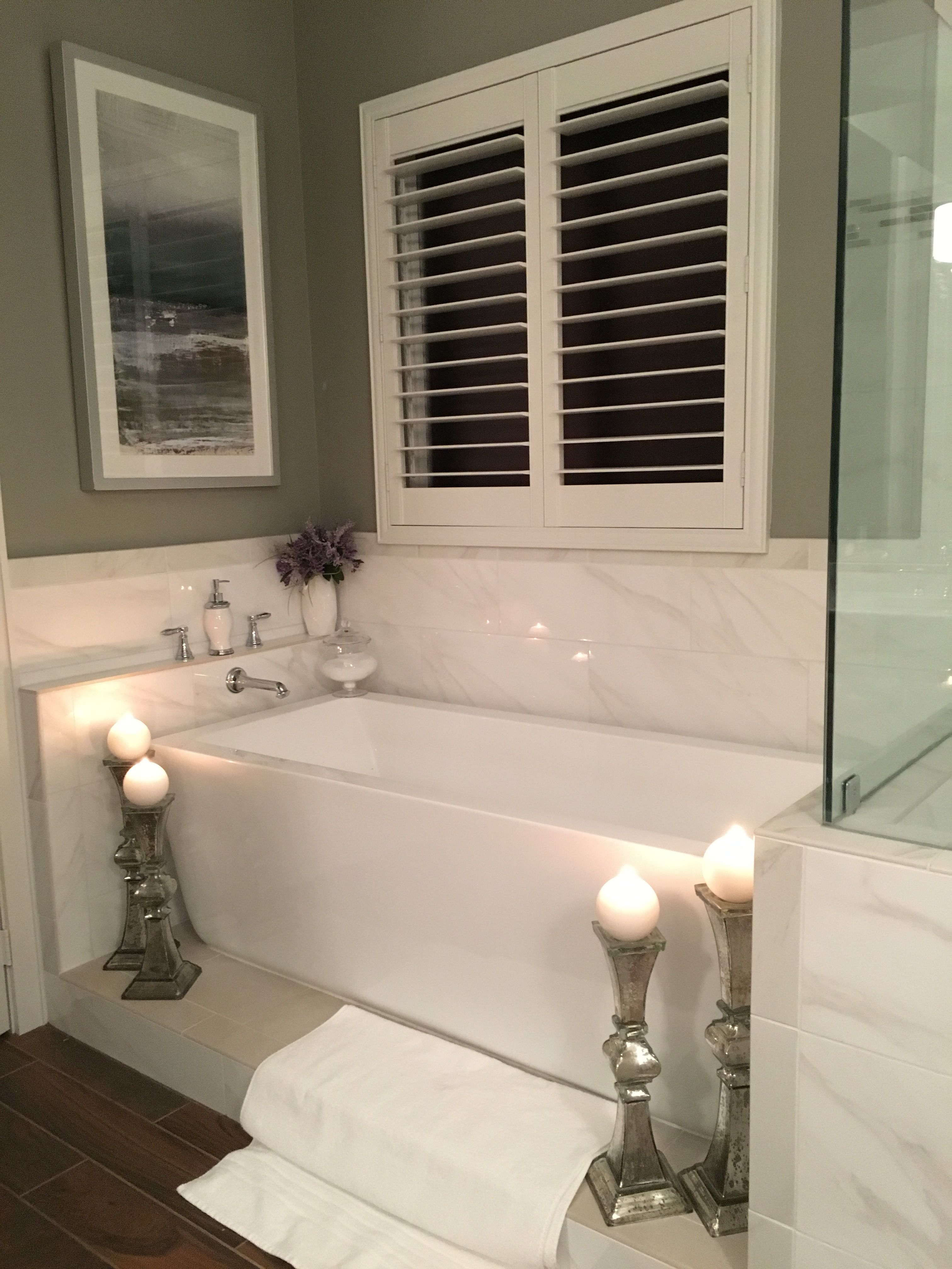 Paint is Sherwin Williams Downing Stone. The water closet and master ...