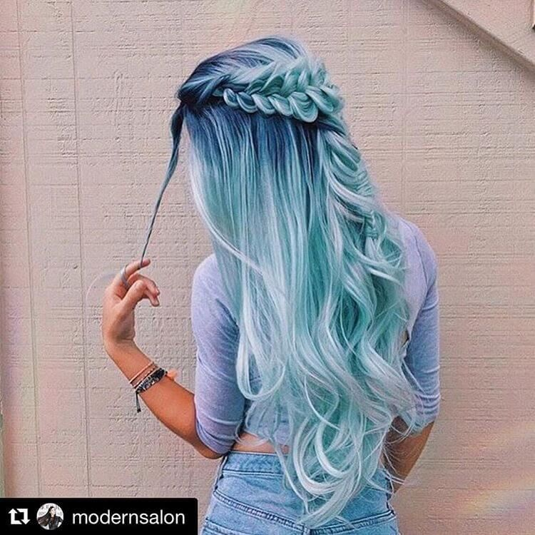 50 Fun Blue Hair Ideas To Become More Adventurous With
