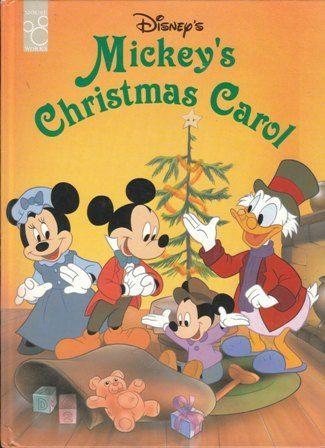 Mickey S Christmas Carol Mouse Works Mickeys Christmas Carol Christmas Carol Book Animated Christmas Movies