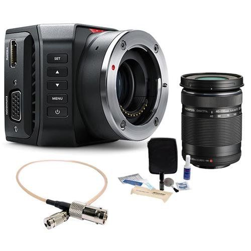 Blackmagic Design Micro Ultra Hd Studio Camera 4k Micro Four Thirds Mount Bundle With Olympus M Z Blackmagic Design Hd Camera Digital Camera Accessories