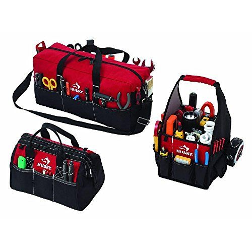 Husky 3 Bag Combo Tool Bag in Red Reviews   34.95  Combo 56acbec83818e