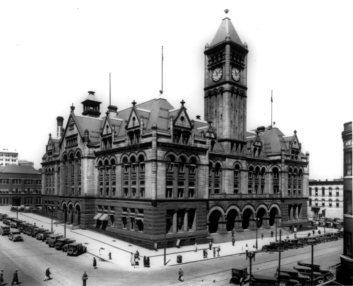 Omaha Old Post Office Completed 1906 Portland Hotels Beautiful Buildings Post Office