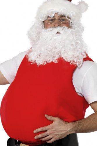 Santa Faux Ventre Père Noël Ventre Adultes Homme accessoire robe fantaisie