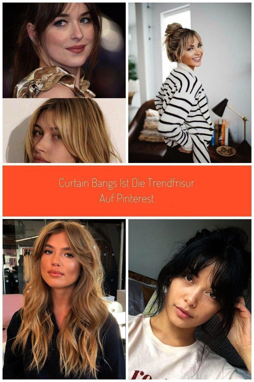 gerade alle Curtain Bangs Wir erklären den Trend um eine Frisur hair Curtain Bangs ist die Trendfrisur auf Pinterest Warum wollen gerade alle Curtain Bangs Wir erkl&...